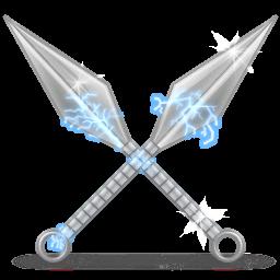 mis herramientas ninja Kunai