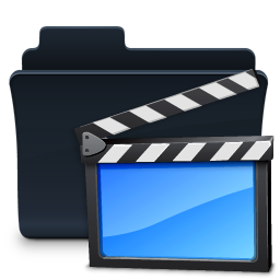 Movies Folder Badged Icon