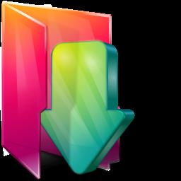 Иконки folder downloads, мои загрузки, папка. иконка folder downloads