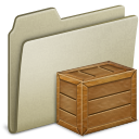 Lightbrown Box Icon