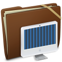 Brown Elastic iMac Icon
