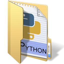 Icon - Python in folder