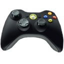 Icons  gt  Hardware  gt  Xbox 360 Elite Icons  gt  360e controller 128x128 IconXbox Controller Icon