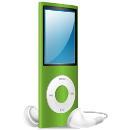 iPod Nano green on Icon