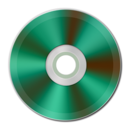Green Metallic CD Icon