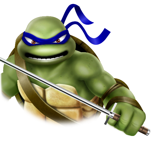 Leonardo Turtle http://www.veryicon.com/icons/movie--tv/turtles---teenage-mutant-ninja/leonardo-1.html