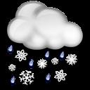 Wet Flurries Icon