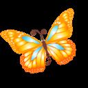 Butterfly orange.png (128×128)