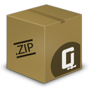 ZIP box Icon
