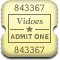 MovieTicket Rounded Icon