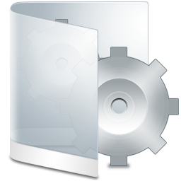 Folder White System icon.
