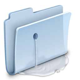 Leaky Folder Icon
