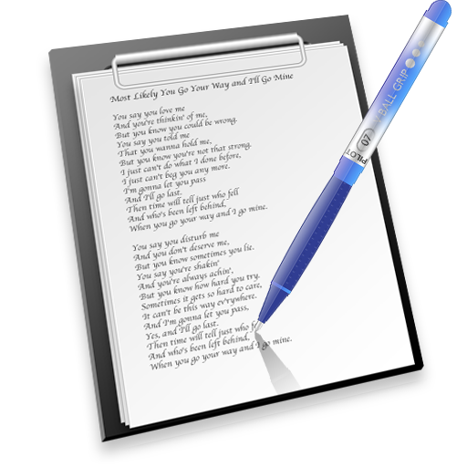 pen & paper icon free download as PNG and ICO formats ...