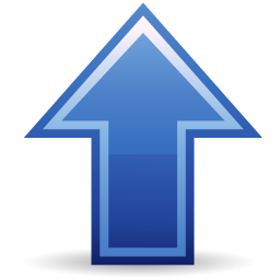 Arrow up icon free download as PNG and ICO formats ...