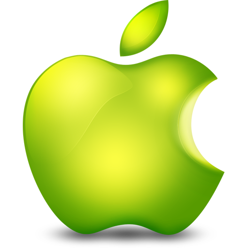 Glossy Apple icon free download as PNG and ICO formats ...