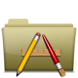 Folder Application Brown Icon