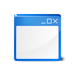 Window blue Icon
