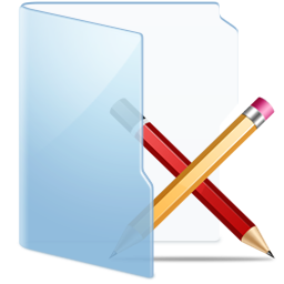 Folder Blue Apps Icon