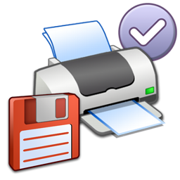 Misc Printer Floppy Default Icon