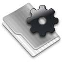 Grey Config Icon