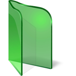 Folder Open Green icon free download as PNG and ICO ...