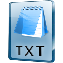 TXT File icon free download as PNG and ICO formats ...