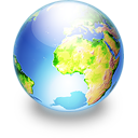 Sphere earth Icon