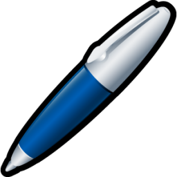 Pen icon free download as PNG and ICO formats, VeryIcon.com: www.veryicon.com/icons/system/scrap/pen-4.html