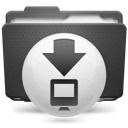 Folder Downloads P Icon