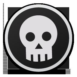 Skull bw.png (256×256)