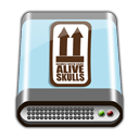BLUE HD ALIVE Icon