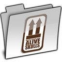 GREY AQUA ALIVE Icon