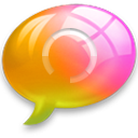 connect0 Pink Orange Icon