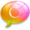 connect5 Pink Orange Icon